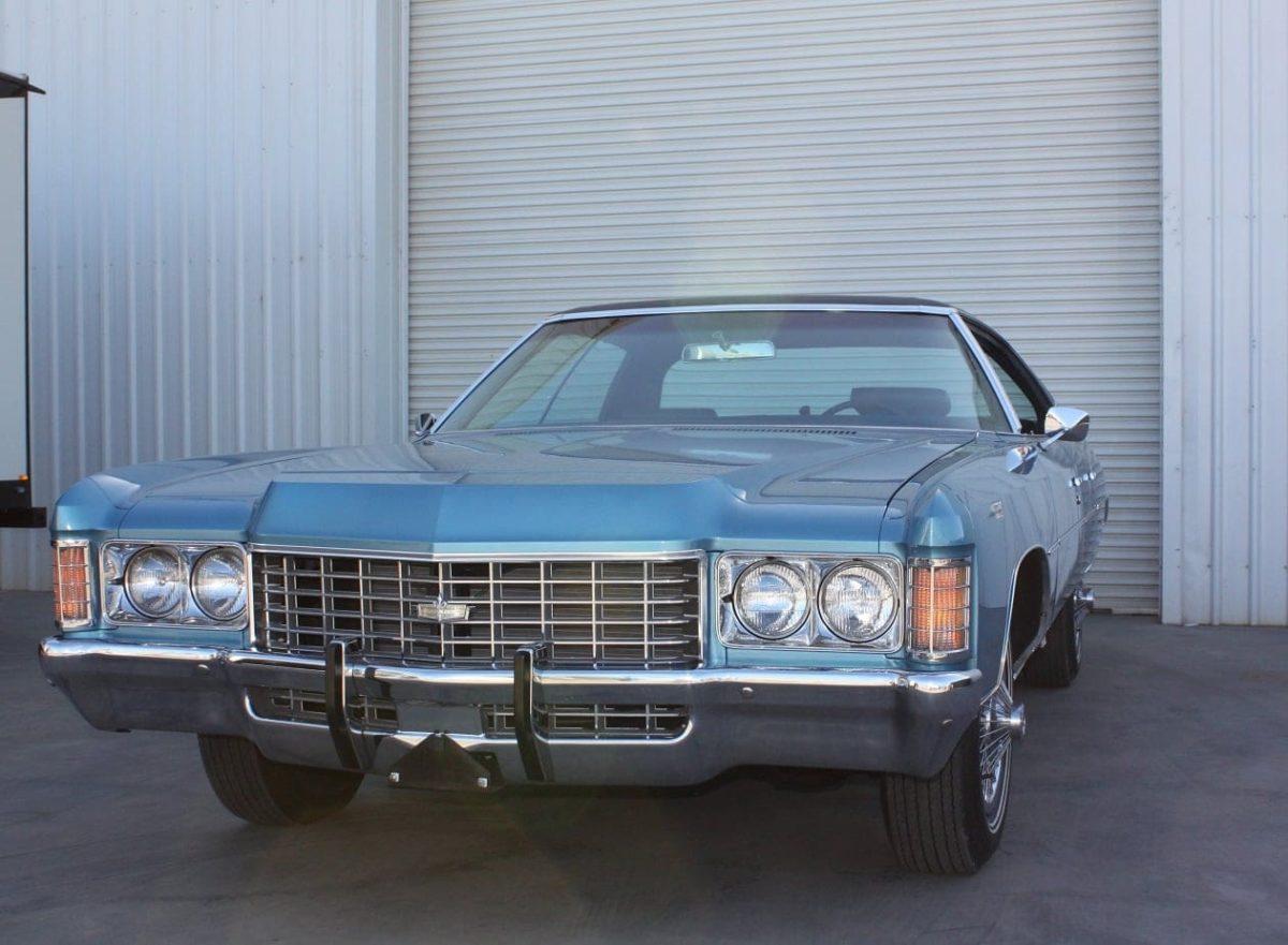 1971 Chevrolet Caprice blue