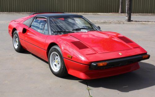 1980 Ferrari 308 GTSi red