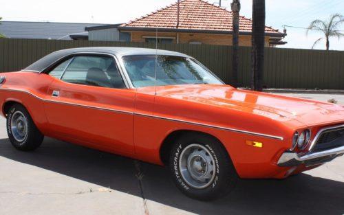 1972 Dodge Challenger Orange