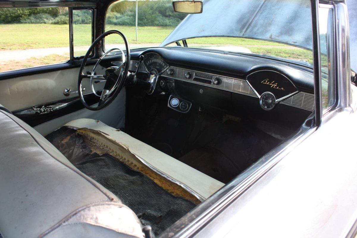 1956 Chevrolet Bel Air 2-Door Hardtop - white