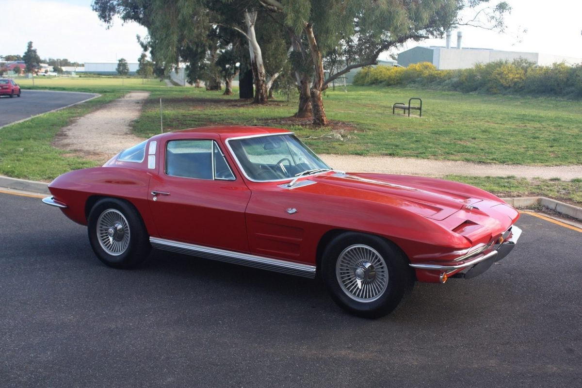 1964 Chevrolet Corvette Coupe red