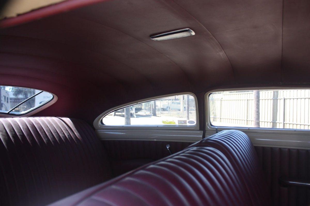 1948 Buick Custom white