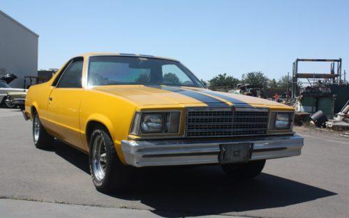 1979 Chevrolet El Camino yellow