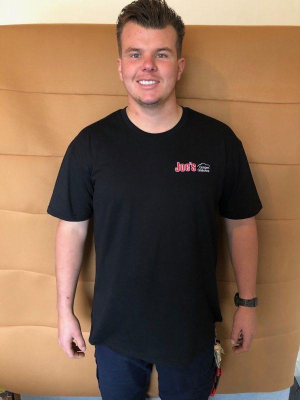 Black T-Shirt Front View