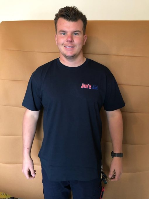 Navy T-Shirt Front View