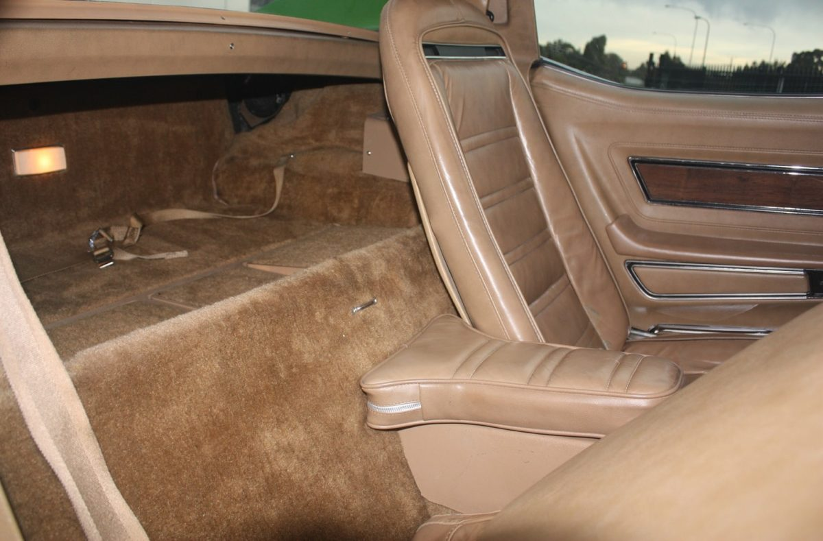 1975 Chevrolet Corvette green