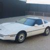 1987 Chevrolet Corvette white