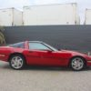 1989 Chevrolet Corvette red